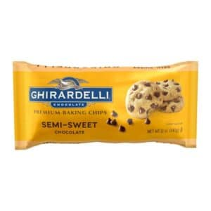 Ghirardelli Baking Chips Semi Sweet Chocolate