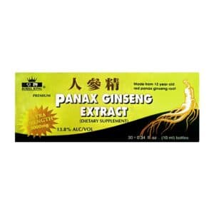 Ginseng Panax 30 Bottles [Royal King] (Green) (24)