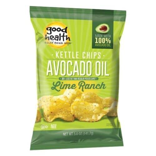 Good Health Avocado Oil Potato Chips Lime Ranch