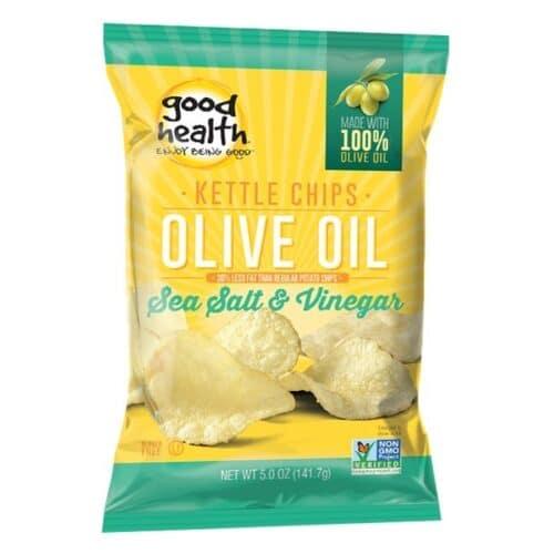 Good Health Olive Oil Potato Chips Salt Vinegar