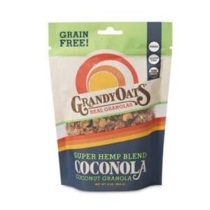 Grandy Oats Coconola Granola Super Hemp Blend