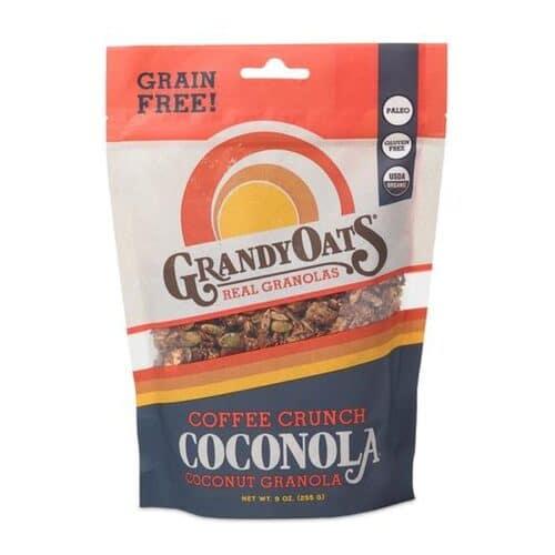 Grandy Oats Coconola Granola Coffee Crunch