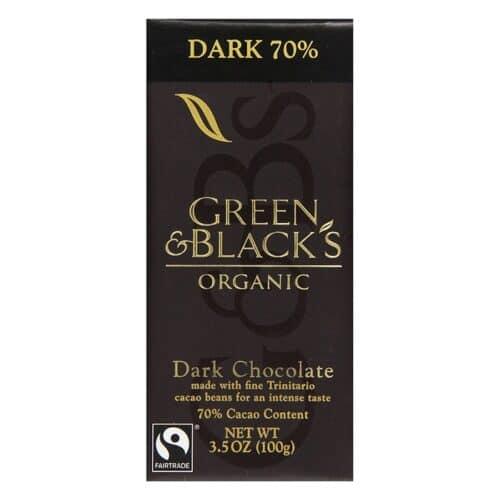 G & B Organic Dark Chocolate 70%