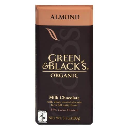 G & B Organic Almonds with Milk Chocolate
