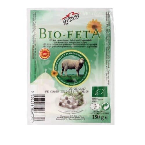 Greco Bio-Feta Organic Sheep/Goat 30% Past #26732