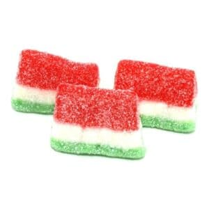 Gummy Sour Watermelon Slices #4/5