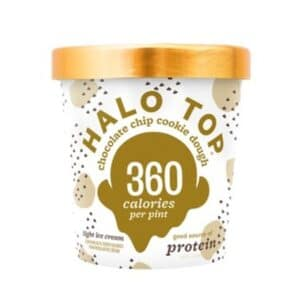 [F] Halo Top Ice Cream Chocolate Chip Cookie Dough