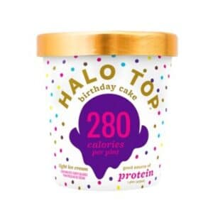 [F] Halo Top Ice Cream Birthday Cake