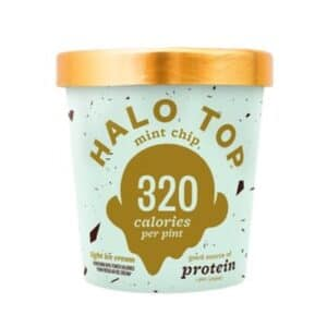 [F] Halo Top Ice Cream Mint Chip