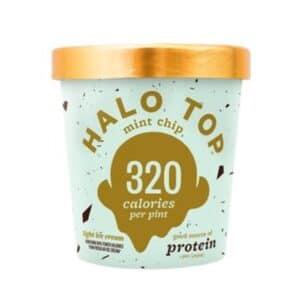 [F] Halo Top Ice Cream Mint Chip