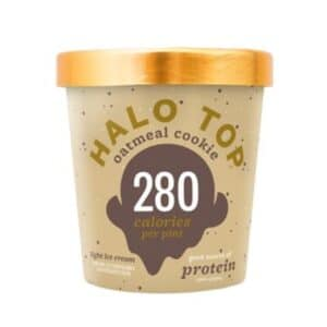 [F] Halo Top Ice Cream Oatmeal Cookie