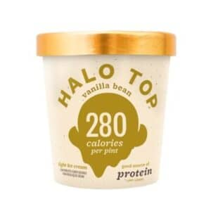 [F] Halo Top Ice Cream Vanilla Bean