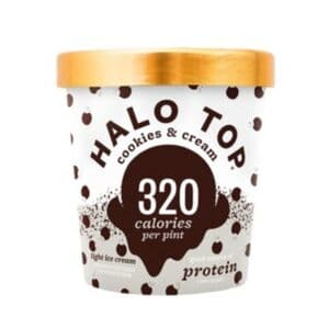 [F] Halo Top Ice Cream Cookies & Cream