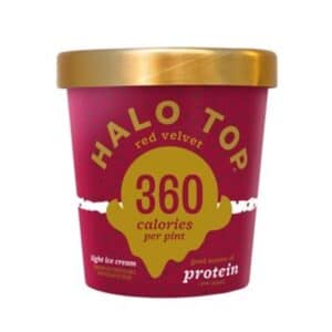 [F] Halo Top Ice Cream Red Velvet