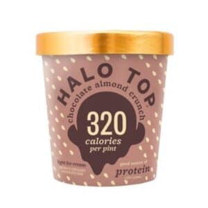 [F] Halo Top Ice Cream Chocolate Almond Crunch