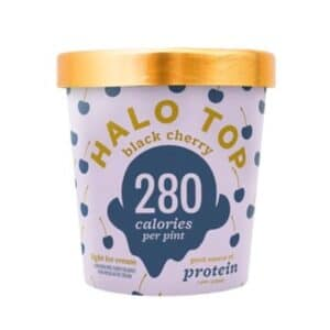 [F] Halo Top Ice Cream Black Cherry