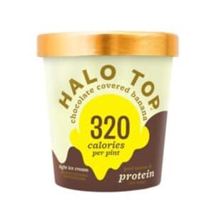[F] Halo Top Ice Cream Chocolate Covered Banana