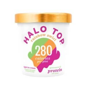 [F] Halo Top Ice Cream Rainbow Swirl