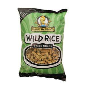 Happy Herbert's Organic Wild Rice Snack Sticks