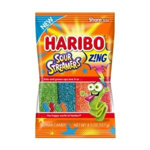 Haribo Package Sour Streamers