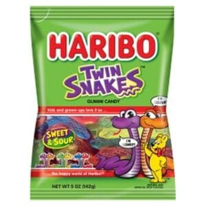 Haribo Package Twin Snakes