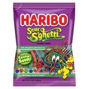 Haribo Package Sour S Ghetti