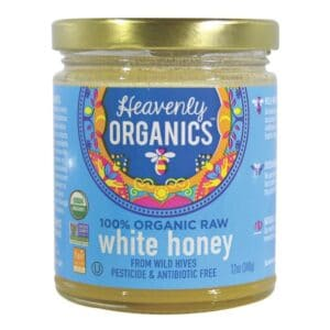 Heavenly Organics 100% Raw White Honey