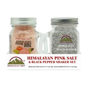 Himalayan Small Pink Salt & Black Pepper Powder