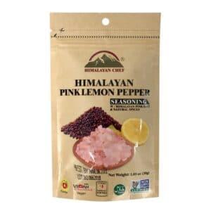 Himalayan Salt Seasoning Lemon Pepper