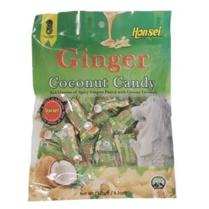 Honsei Ginger Coconut Candy