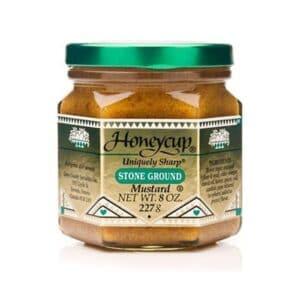 Honey Cup Stone Ground Mustard