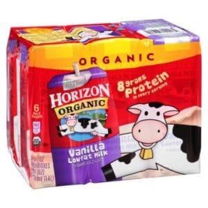 Horizon Organic Reduced Fat 1% Vanilla Milk (3/6 Pk)