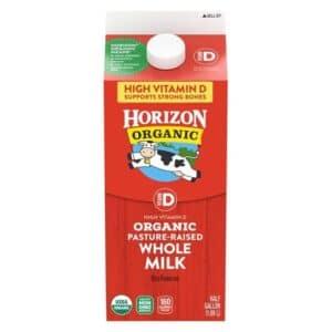 Horizon Organic Half Gallon UP WHOLE Milk  (#26445) [100192]