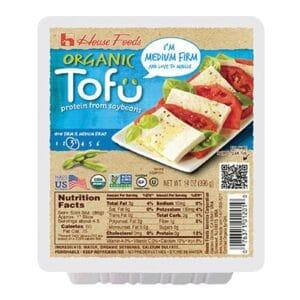 House Organic Tofu Medium Firm