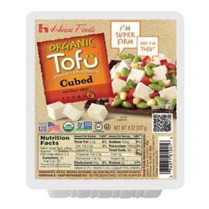 House Organic Tofu Cubed