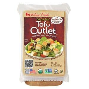 House Organic Vacuum Pack Tofu Cutlet