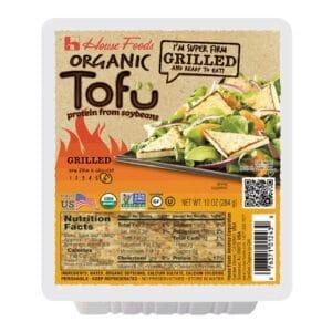 House Organic Grilled Tofu Super Firm