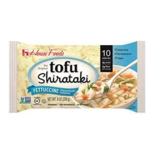 House Tofu Shirataki  (Fettuccine)
