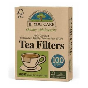 If You Care Tea Filters Unbleached (Short)