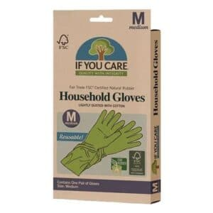 If You Care Latex Household Gloves Medium