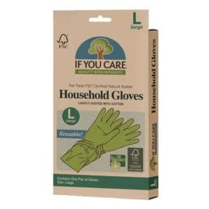 If You Care Latex Household Gloves Large