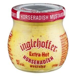 Inglehoffer Mustard Horseradish Extra Hot