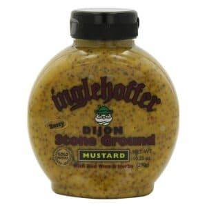 Inglehoffer Squeeze Mustard Dijon Stone Ground