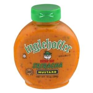 Inglehoffer Squeeze Mustard Sriracha Extra Hot