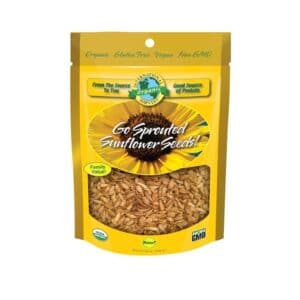 Intl Harvest Organic Go Sprouted Sunflower Seeds!