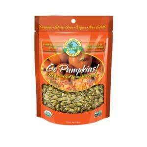 Intl Harvest Organic Go Pumpkins! Roasted