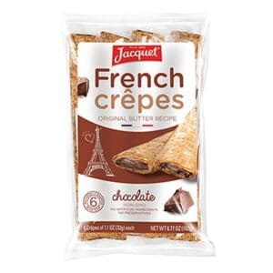 Jacquet Crepes Chocolate (12/6pc)