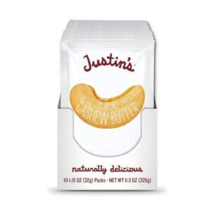 Justins Classic Cashew Butter Squeeze Pack