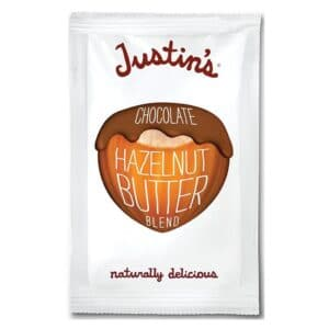 Justins Chocolate Hazelnut Butter Squeeze Pack