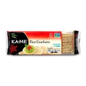 KA-ME Rice Crackers – Wasabi
